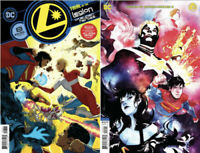 Legion of Super Heroes #8 NM COVER A + COVER B VARIANT SET PRESALE 8/25 2020
