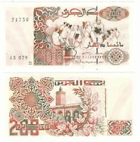 ALGERIA 200 DINARS 1992 P-138 UNC - Banknotes Paper Money