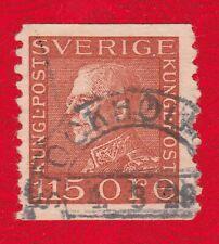 Sweden 1925 King Gustav V - used coil stamp.