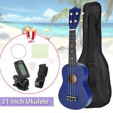 21'' Soprano Ukulele Ukelele + Sintonizador + Plectro+Bolsa Guitarra Madera
