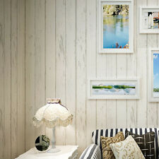 Timber Plank Wood Panel Stripes Wall&paper Rolls Wall Backround Bedroom Decor