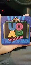 Universal Orlando UOAP Annual Passholder RETRO DESIGN MAGNET NEW!!!