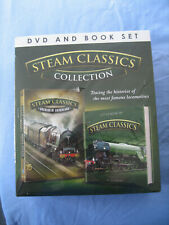STEAM CLASSICS COLLECTION - DVD & BOOK SET - NEW