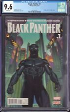 Black Panther #1 (Marvel Comics, 2016) CGC 9.6