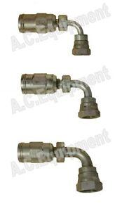 Reusable 3/8 90°Hydraulic Hose fitting-High Pressure Hose-Spitwater-Gerni-Jetwav