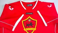Bafana Soccer Jersey Mens SZ M/L Red Futbol Stanno #7 Lion Crest 3 Guard Dri-Fit