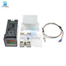 Rex C100 Pid Thermostat Temperature Ssr 1m2m K Thermocouple Ssr 40da Relay