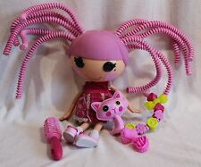 Lalaloopsy Silly Hair Jewels Sparkles Doll Cat Kitty Pet Crazy Full Size Retired