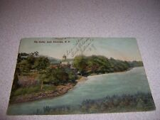 1908 THE OUTLET LOCH SHELDRAKE NY. ANTIQUE POSTCARD