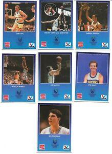 1987 Kentucky Bluegrass State Games 7 card lot SAM BOWIE REX CHAPMAN