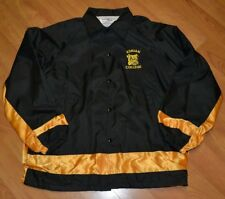Adrian College Bulldogs Sewn Chalkline Windbreaker Button Up Jacket XL Nice MI