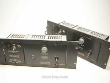 Pair of General Radio Single Ended 1206-B Tube Amps w 1201-B Power Supplies - KT