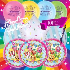 "NEW 2018 10PC Shopkins 12"" Latex Balloon  ❤ Balloons PARTY birthday"