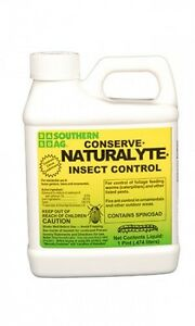 Conserve Naturalyte Insect Control Spinosad 16 oz. Pint OMRI Organic Southern AG
