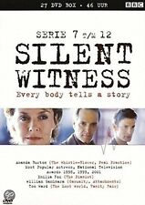 SILENT WITNESS : SERIES 7 8 9 10 11 & 12 BOX   -  DVD - PAL Region 2 - New
