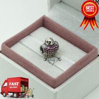Pandora, Red Robin, Bird, CZ, Bracelet Charm 791731CZR