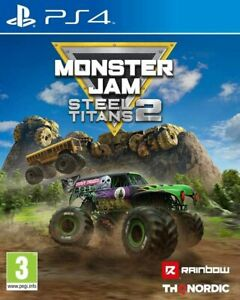 Monster Jam Steel Titans 2 PS4 PLAYSTATION New and Sealed
