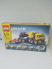 Lego 4891 Creator Highway Haulers / Cars Truck / Tires Wheels Rare Set. NIB