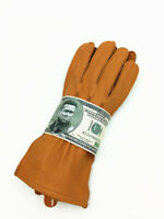 US ARMY AIR FORCES / USAAF PILOT LEATHER FLIGHT GLOVES
