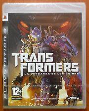 Transformers La Venganza de Los Caídos, PlayStation 3 PS3,Versión Española,NUEVO