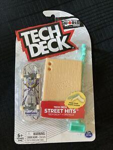 Tech Deck ALIEN STREET HITS New Creature Home Ramp Rampe Maison