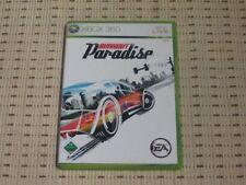 Burnout Paradise para Xbox 360 xbox360 * embalaje original *
