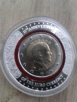Seltene***Sonderausgabe Monaco 2 Euro 2017 Polymer-Ring*15 Jahre EURO