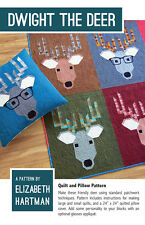 Quilt & Pillow Pattern ~ DWIGHT THE DEER  ~ by Elizabeth Hartman