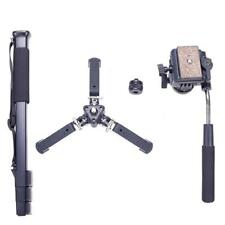 Tripod VCT-288 Monopod &Fluid Pan Head&Unipod Holder for Canon Nikon DSLR Camera