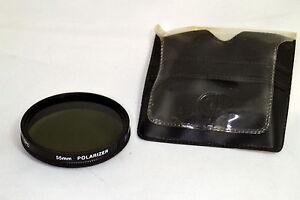 CPC 55mm Polarizer PL GEL Lens Filter with soft case O104043