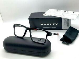 OAKLEY CHAMFER 2.0 OX 8040 0554 SATIN BLACK 542-17-140MM Eyeglasses NIB
