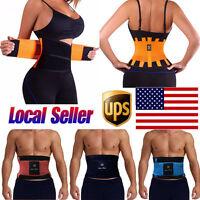 Sport Body Shaper Waist Trainer Cincher Tummy Corset Slim Belly Girdle Belt Wrap