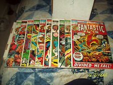 Fantastic Four #128, 131, 134, 135, 139, 140, 141, 143, 149, 150,