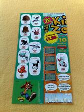 Sticker Sammelsticker Anime Stickerbogen Kids Zone Pokemon Sprüche Crash