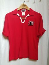 Dale Earnhardt Womens Red Polo Shirt Medium Chase Authentics M Nascar Racing