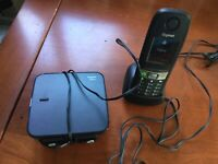 Gigaset E630 A Base & E630 Cordless Phone Handset with TWO AC Power Adaptors