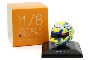 Spark 1/8 Scale Lando Norris McLaren 2019 Japanese Grand Prix Helmet - Instock 1