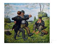 Otto Quante Frühlingstanz Poster Kunstdruck Bild 49,6x64,6cm - Portofrei