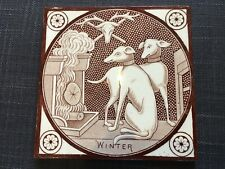 More details for c1870 aesthetic period tile - t & r boote -
