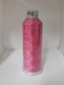 Madeira Polyneon 40, 1990 Pink 5000m Machine Embroidery Thread Brand New