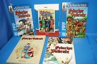 Lote 4 comics EL PRINCIPE VALIENTE - Hal Foster -planeta deagostini y mas