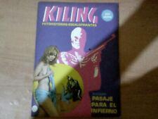 KILLING FOTONOVELA ARGENT. RARO CRIMINAL / EROTI C N.125 TERROR EDIT. GR RARE