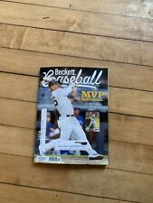 Beckett Baseball April 2020 Card Price Guide Magazine Gleyber Torres