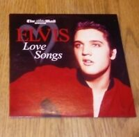 Elvis Love Songs - Daily Mail Promo CD