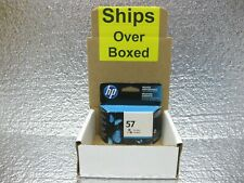 HP 57 Color Ink C6657AN Genuine New *** SHIPS OVERBOXED *** Date: April 2019