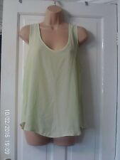 GREEN VEST TOP BY DOROTHY PERKINS, SIZE 16