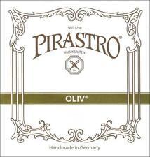 Pirastro Oliv 4/4 Violin E String: Medium Gold Loop