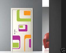 00148 Wall Stickers Design Adesivi Murali porta optical art 90x205cm