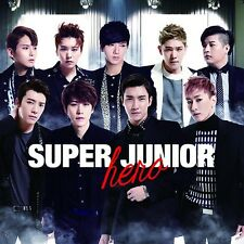 SUPER JUNIOR SUJU - HERO [Japan 1st Album] 2CD+DVD