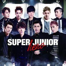 SUPER JUNIOR SUJU - HERO [Japan 1st Album] 2CD+DVD